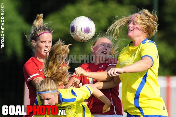 Saestum I – RKVV Velsen (22-08-2015)
