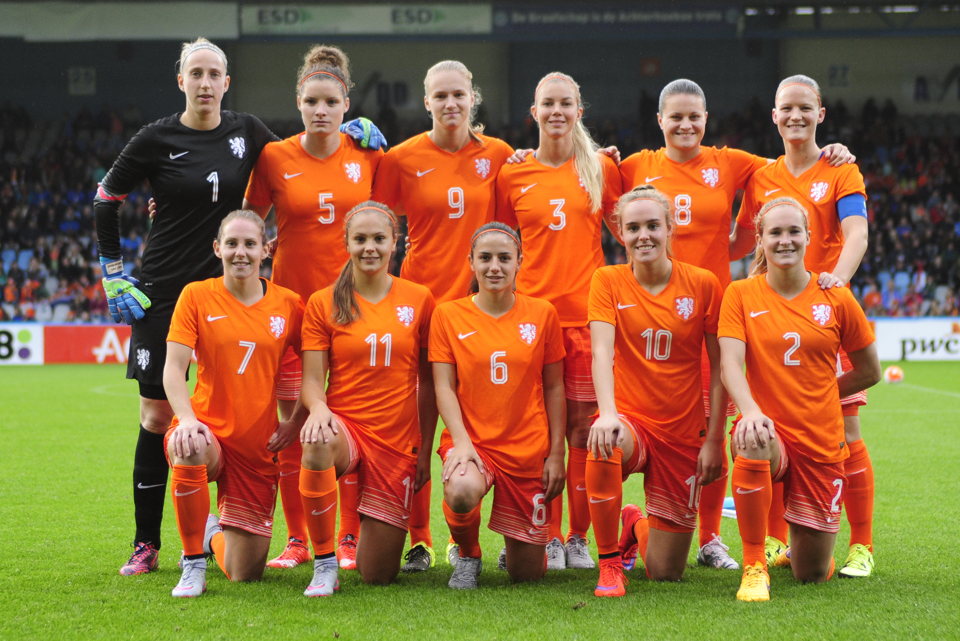 Leeuwinnen verslaan Belarus met 8-0