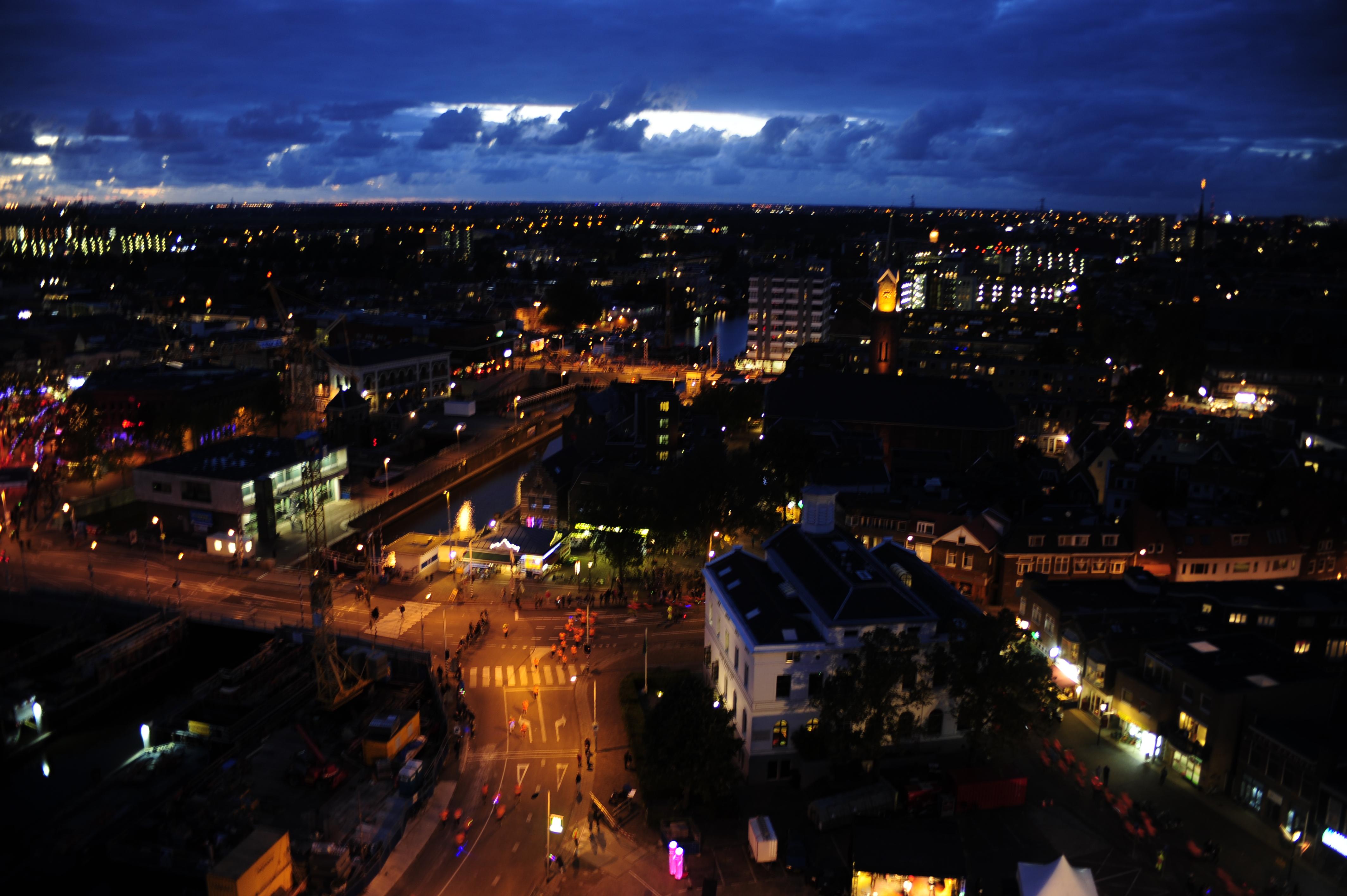 Foto's Damloop by night