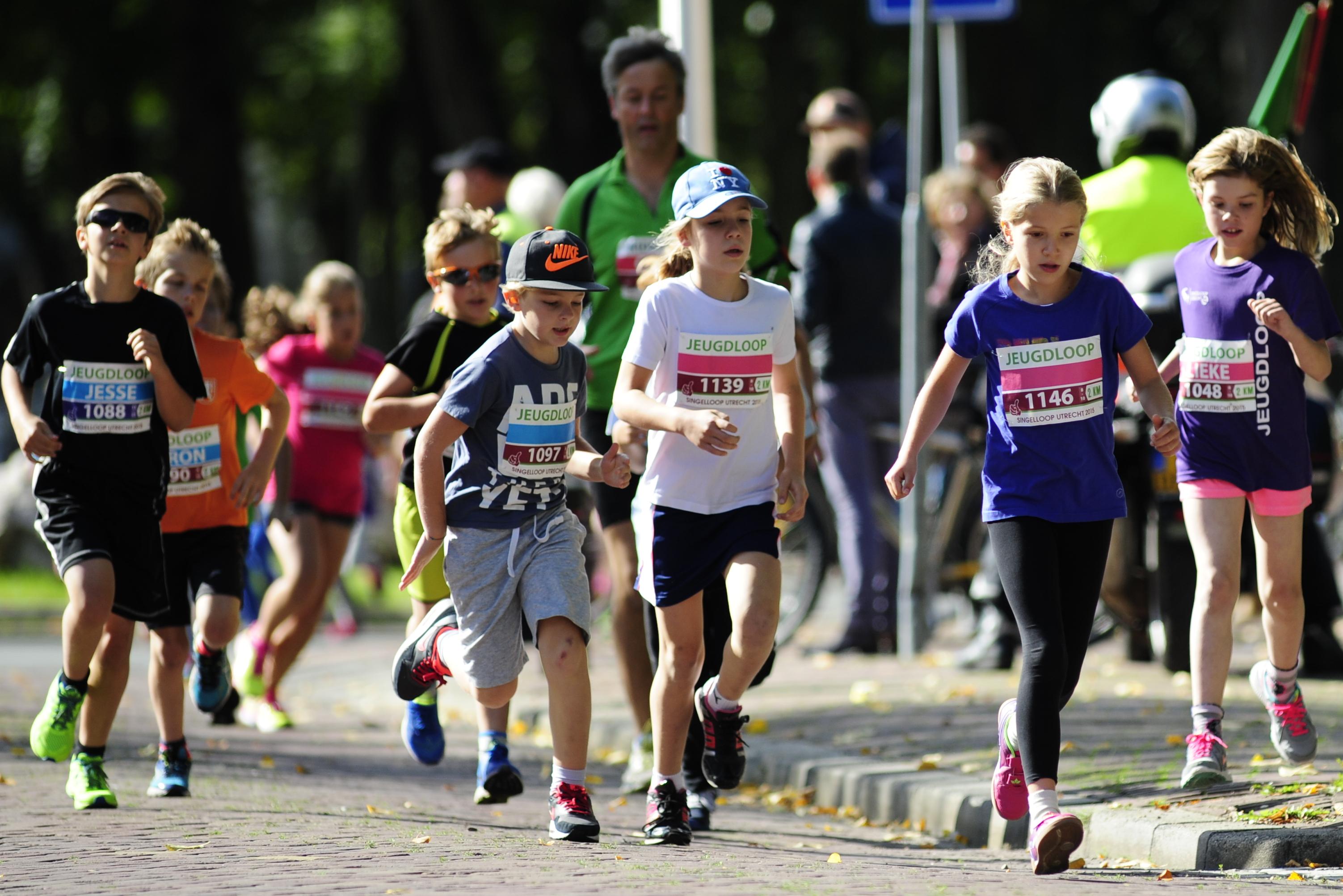 Foto's Singelloop : Kidsloop & jeugdloop