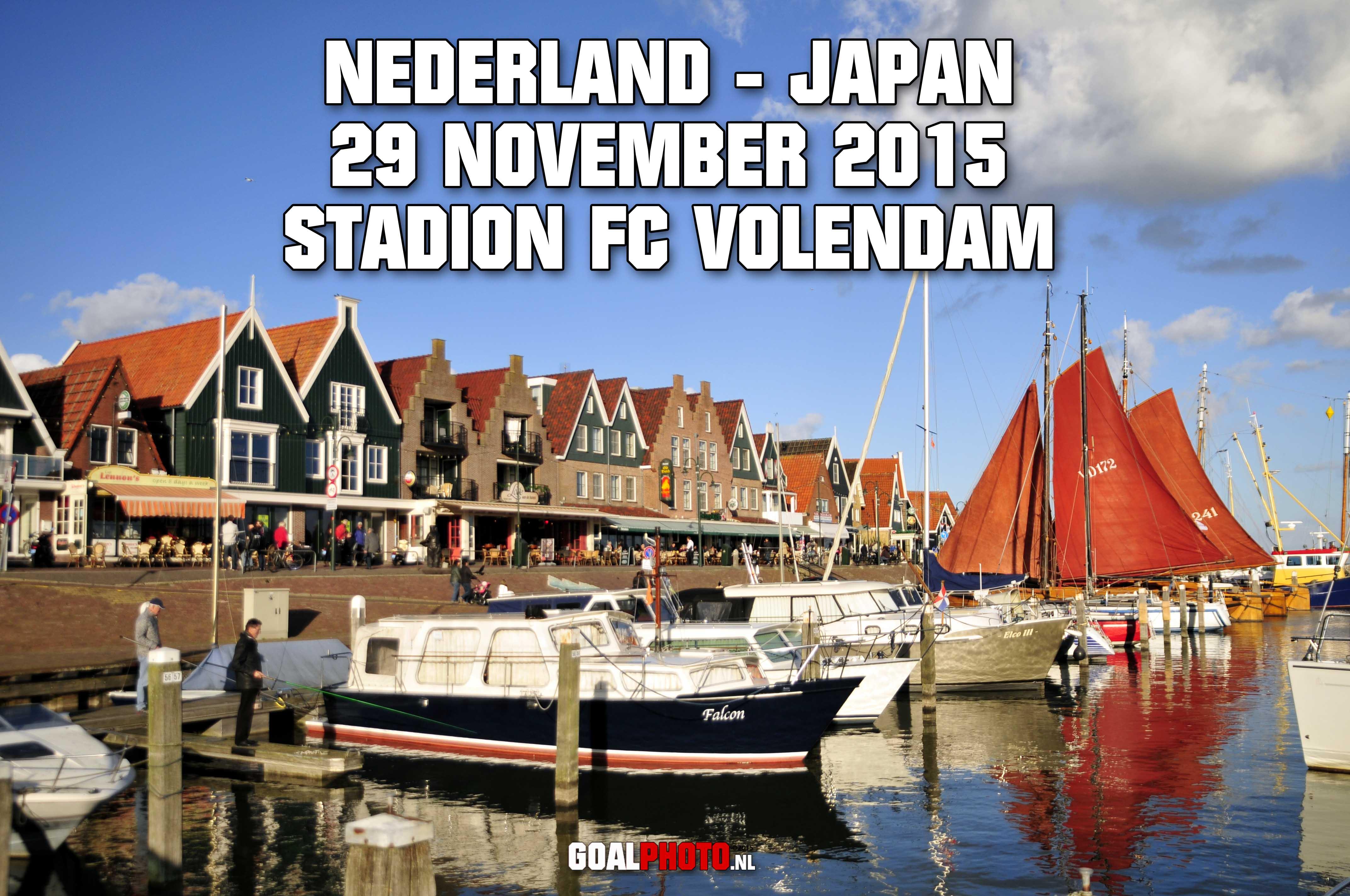 Volendam decor voor oefenwedstrijd Nederlands vrouwenelftal tegen WK-finalist Japan