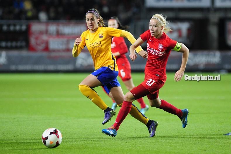 Twente-vrouwen verliezen eerste wedstrijd van Barcelona