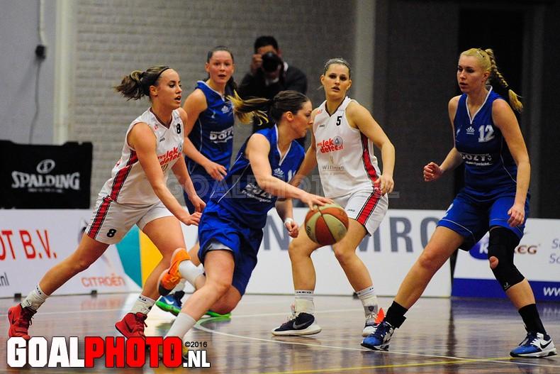 Dozy BV Den Helder – Lekdetec.nl vrouwen basketball league
