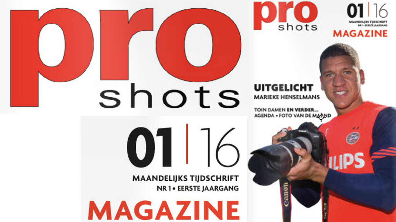 Pro shots Magazine januari 2016