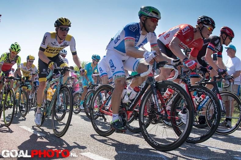 Giro Gelderland vanaf de Posbank in Rheden