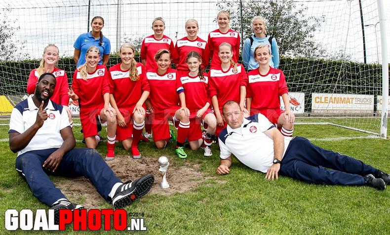 UVVA onder 15 wint Topgirls toernooi