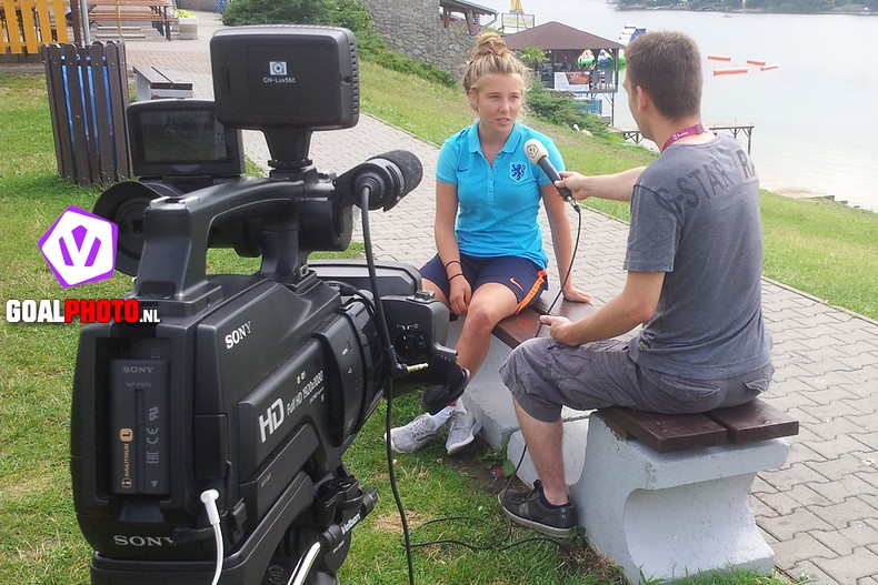 """VIDEO: Suzanne Admiraal  """"Goaltje? Hopelijk zo snel mogelijk"""""""