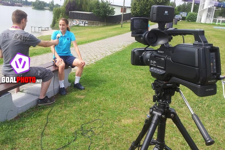 """VIDEO: Soraya Verhoeve """"Wij gaan vol voor die negen punten"""""""