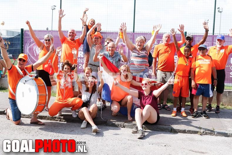 Oranje onder 19 naar halve finale !