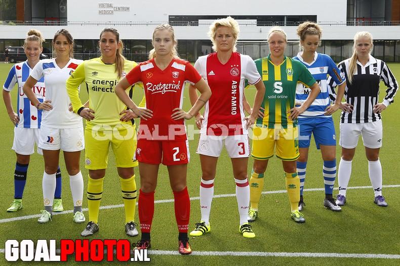 Presentatie Eredivisie vrouwen 2016/2017