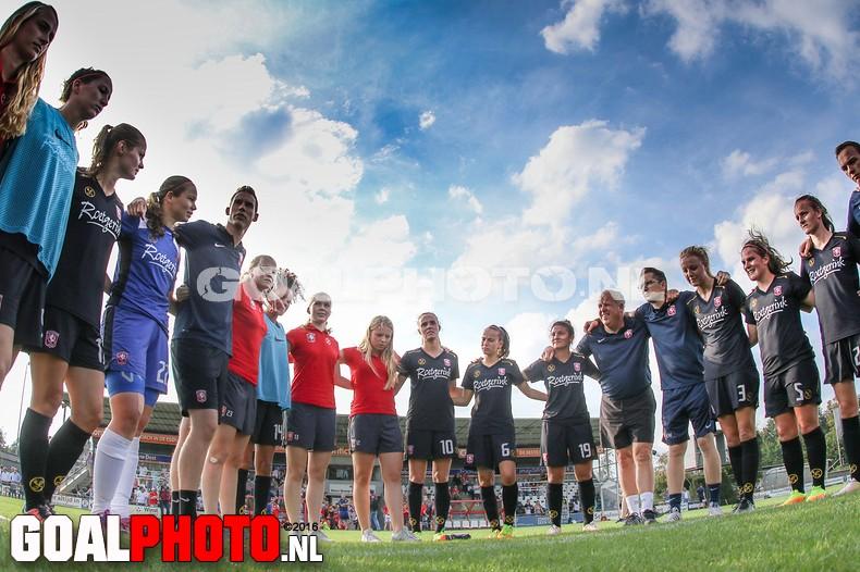 Vrouwen Twente naar hoofdtoernooi Champions League
