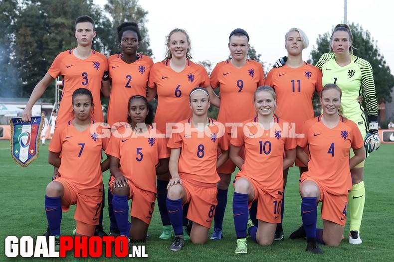 Nederland o19 – Italië o19 (0-0)