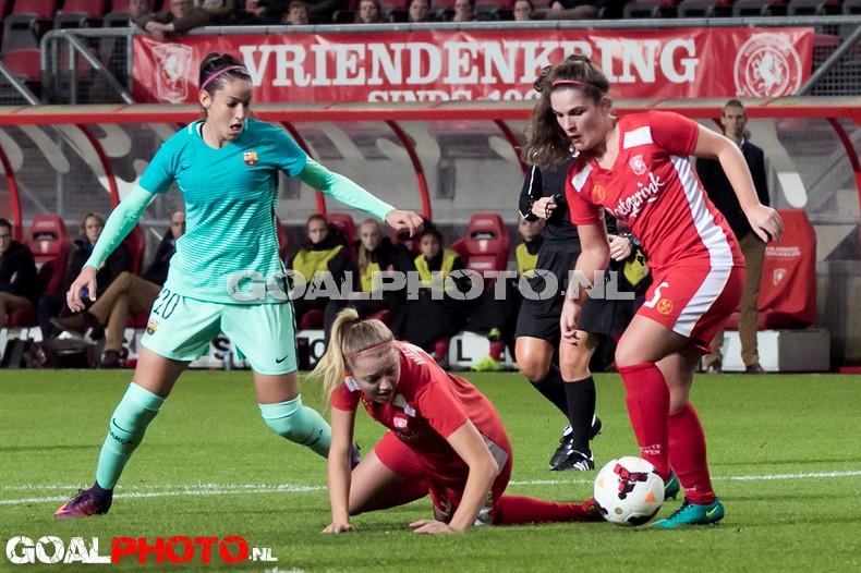 Barça schakelt vrouwen FC Twente opnieuw uit