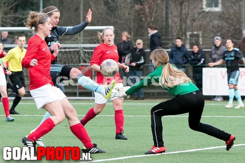 KNVB beker Saestum – Ajax (3-4)