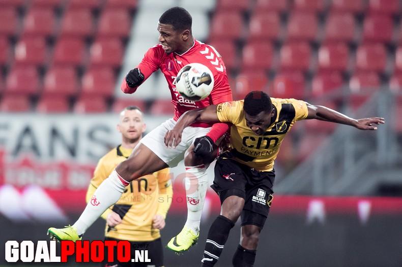 NAC Breda wint van Jong FC Utrecht bij debuut trainer Vreven