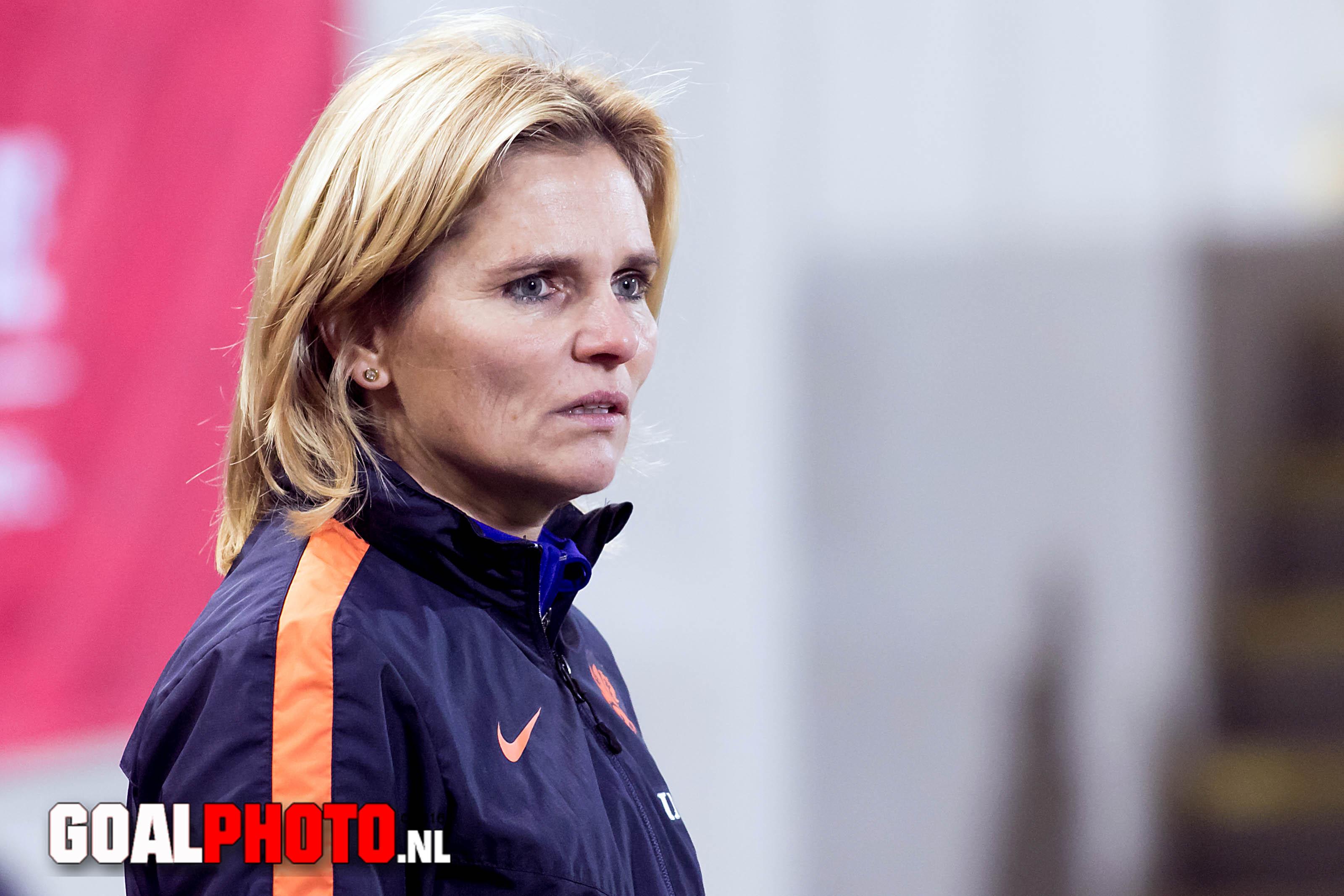 Sarina Wiegman bondscoach Nederlands vrouwenelftal