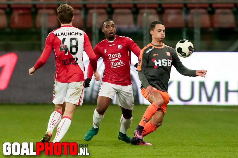 Uitzege FC Volendam bij Jong FC Utrecht in Jupiler League