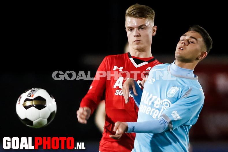 Jong AZ pakt ook tegen Jong FC Twente drie punten