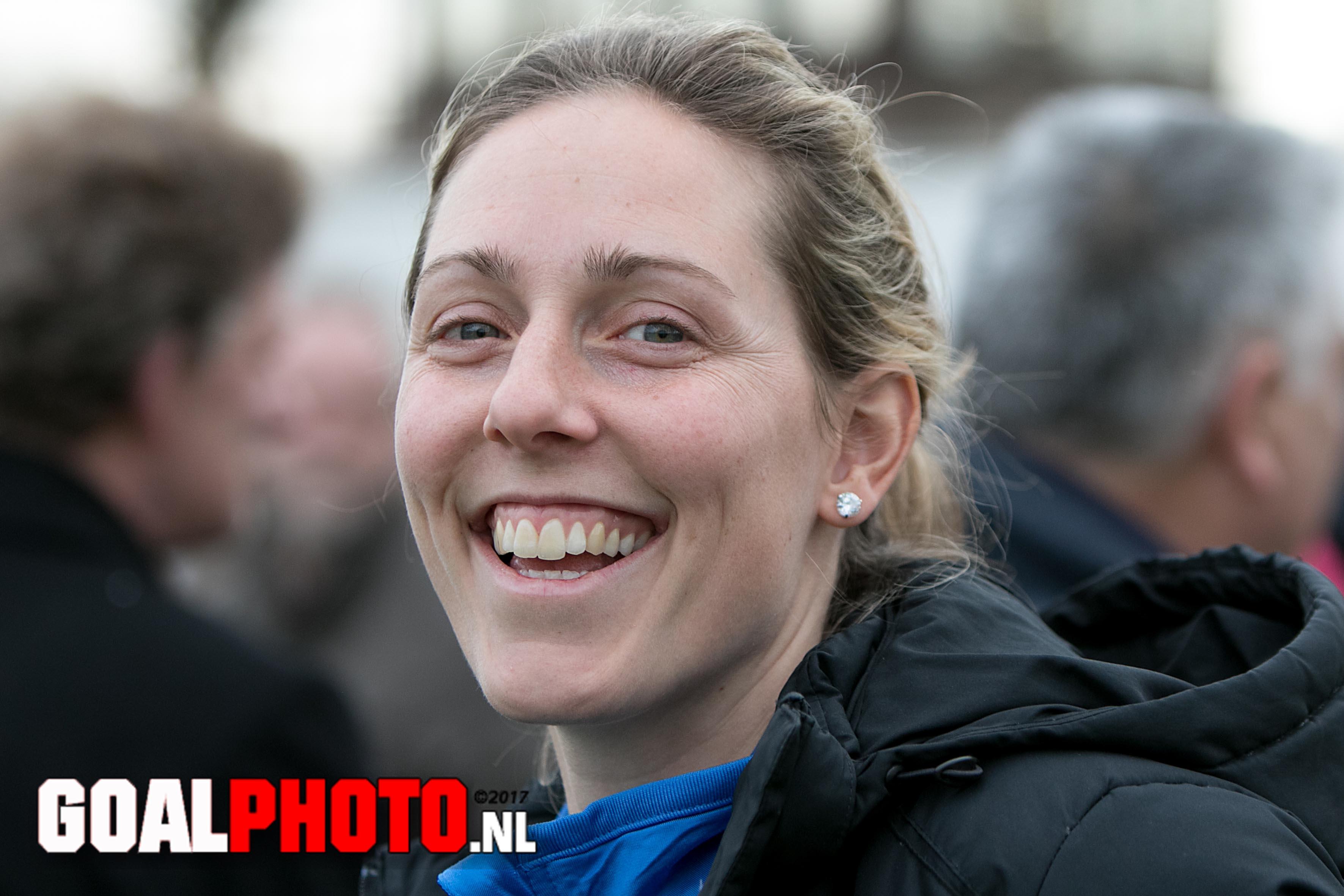 Janneke Bijl trainer vrouwen Saestum