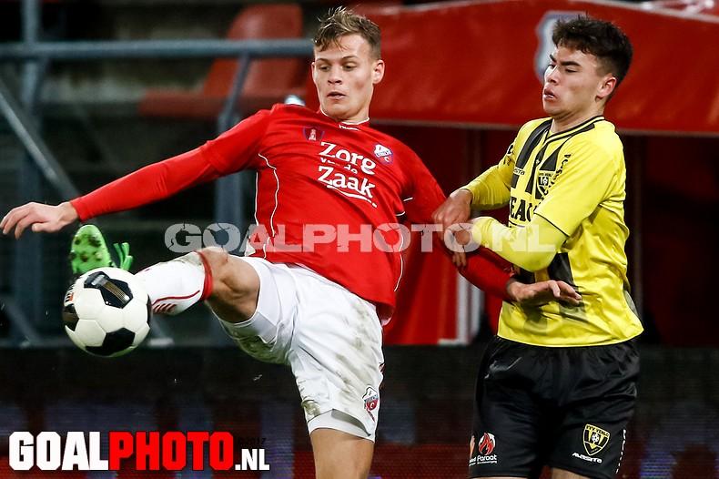 Koploper VVV laat punten liggen bij Jong FC Utrecht