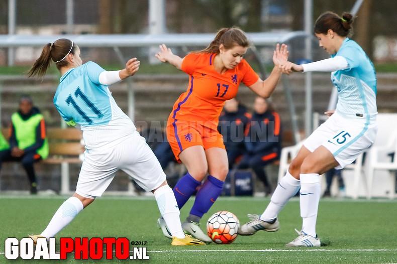 Slovenië – Nederland o19 (0-5)