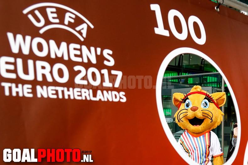100 dagen voor het EK stad Utrecht