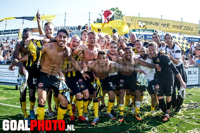 Rijnsburgse boys naar 2e divisie