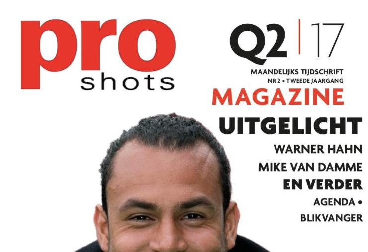 Pro Shots magazine Q2