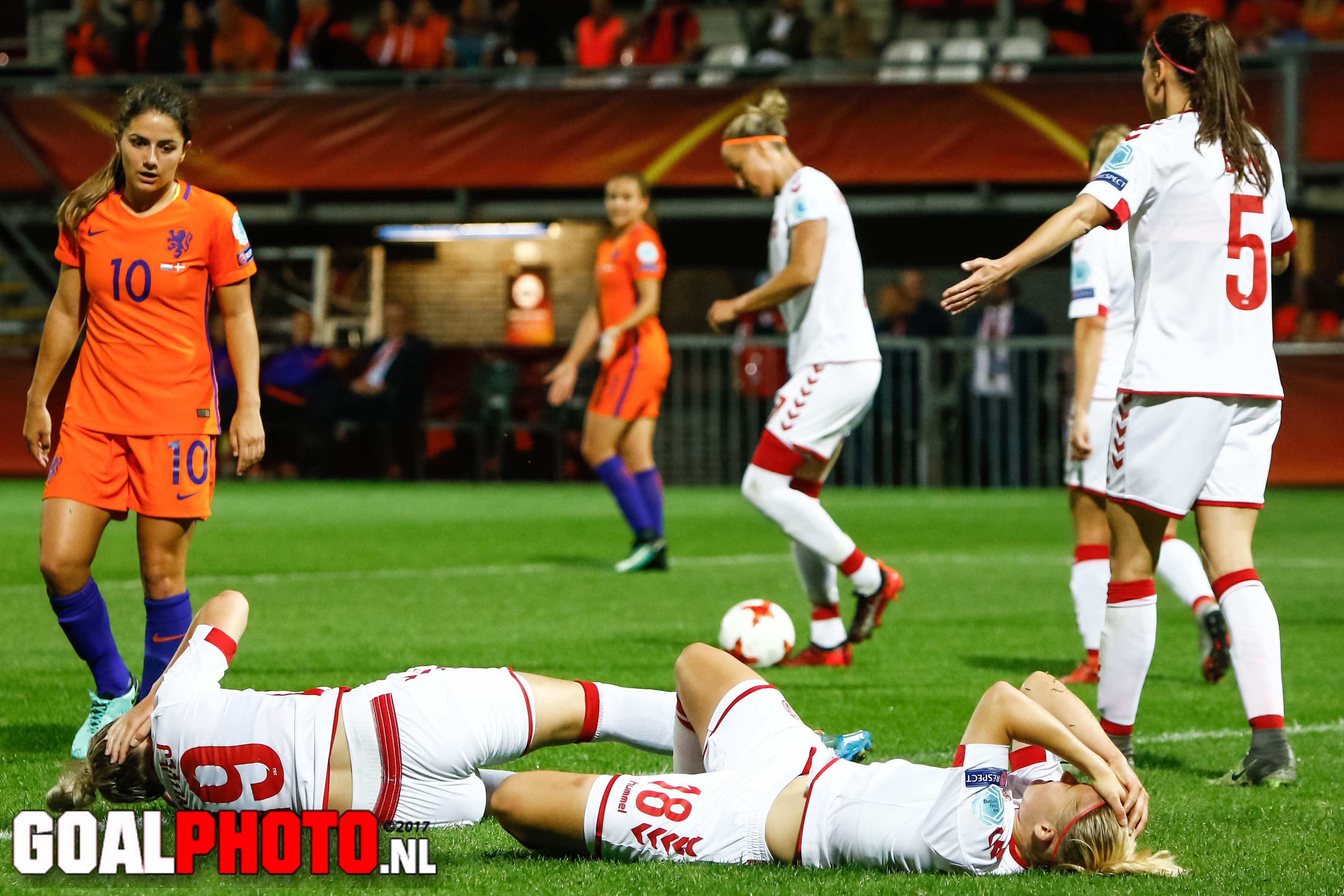 Denemarken eerstvolgende tegenstander OranjeLeeuwinnen