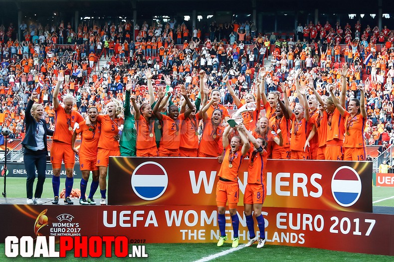 Oranje Europees kampioen na spectaculaire finale