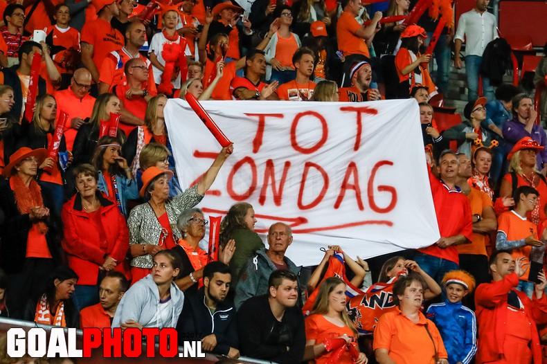 Oranje voor het eerst in de historie in EK-finale