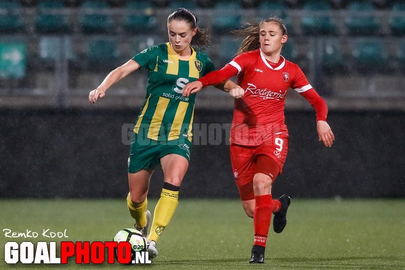 FC Twente wint van ADO Den Haag vrouwen