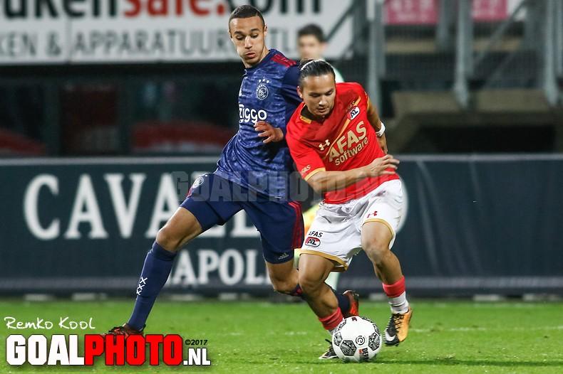 Jong AZ bezorgt Jong Ajax tweede nederlaag op rij