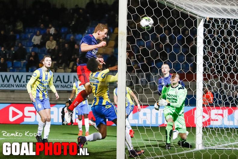 RKC verliest in doelpuntrijk duel van Jong Ajax