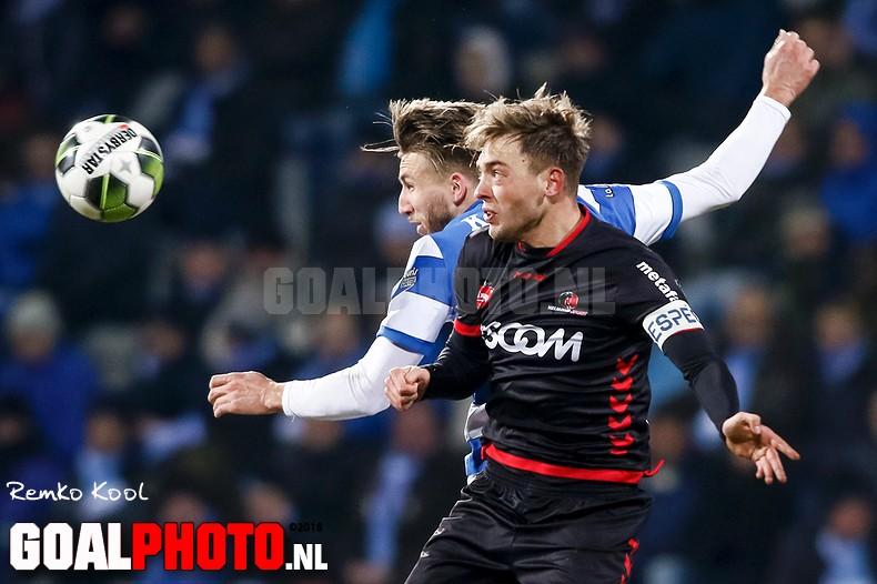 De Graafschap wint in matig duel nipt van Helmond Sport