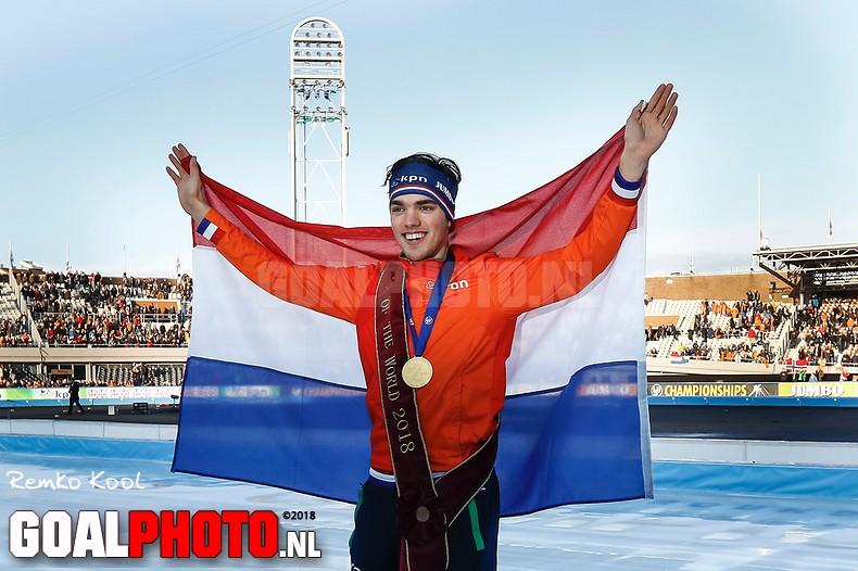 Roest na val van Pedersen wereldkampioen allround, Kramer vierde