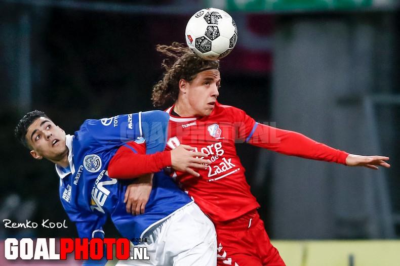 Jong FC Utrecht pakt punt tegen FC Den Bosch