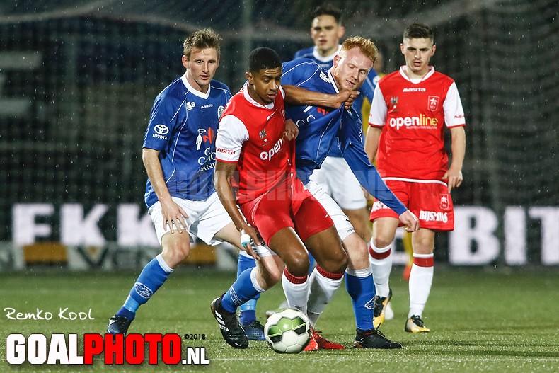 Van der Sande beëindigt doelpuntendroogte en kopt FC Den Bosch voorbij MVV