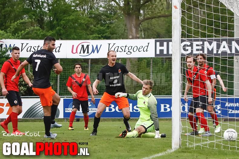 HHC Hardenberg pakt drie punten bij AFC Amsterdam