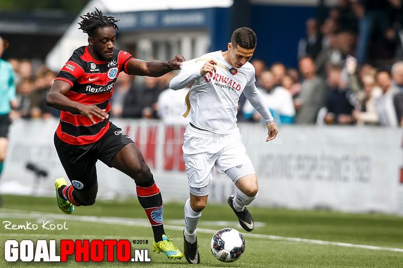 Telstar verslaat De Graafschap in eerste halve finale play-offs