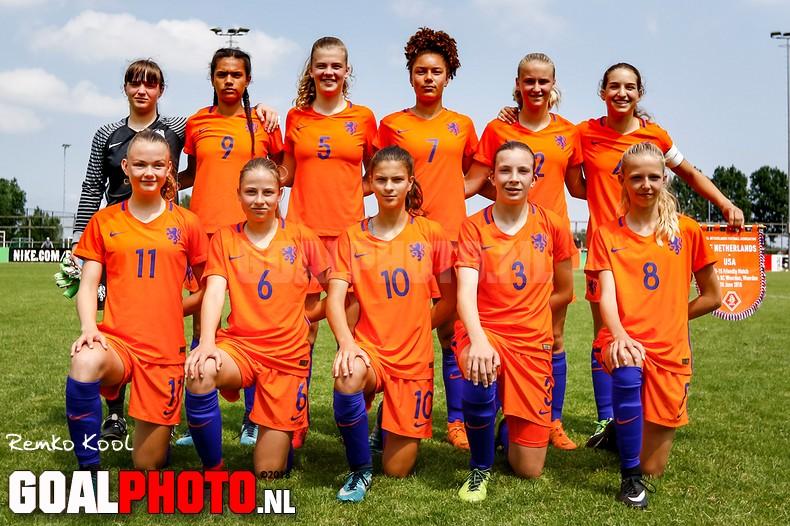 Nederland O15 – USA O15