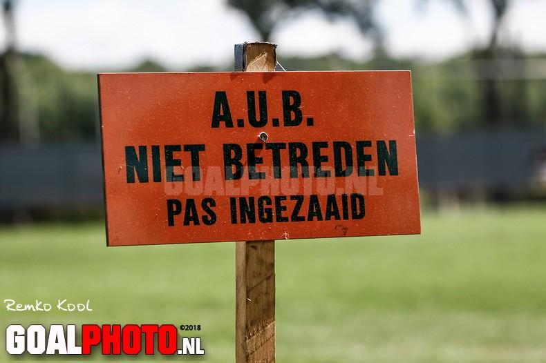 Een zonnige eerste training FC Utrecht