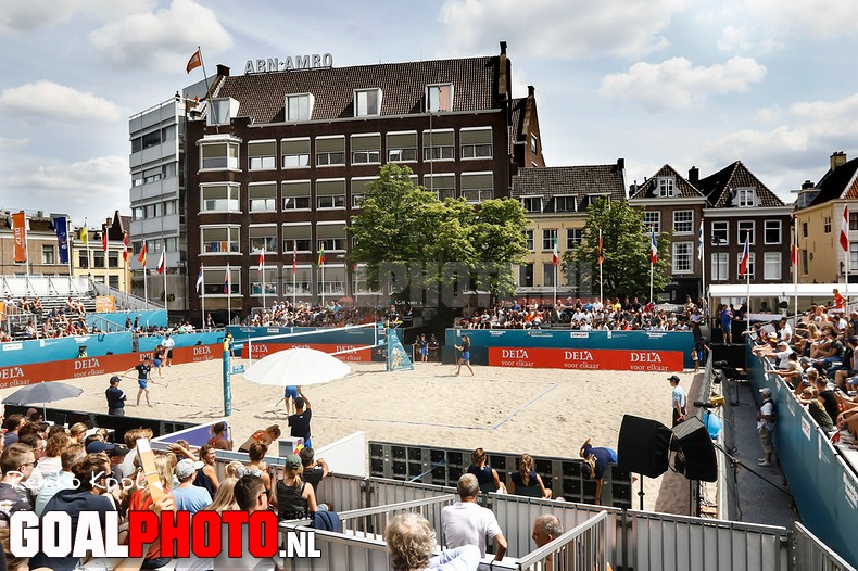 Dag 3 EK beachvolleybal Utrecht