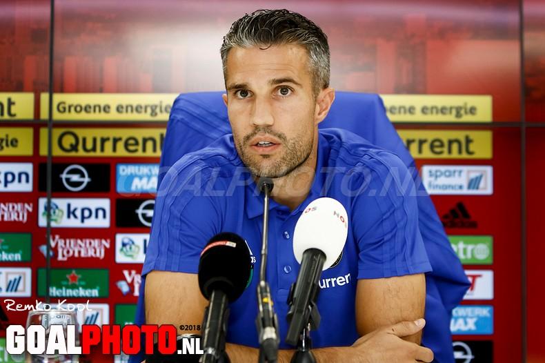 Feyenoord training & persconferentie