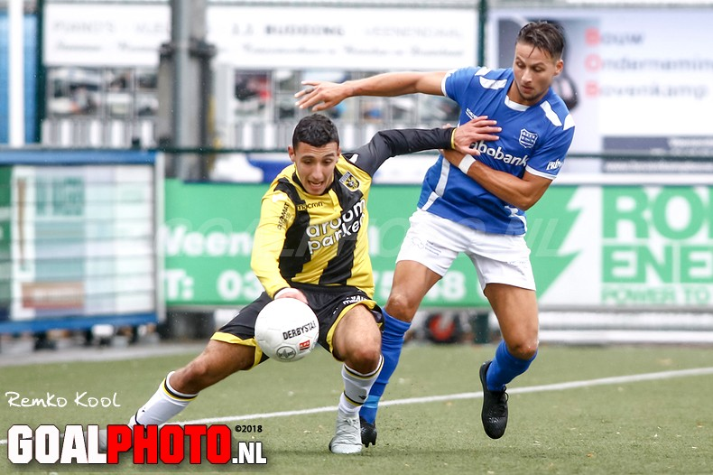 GVVV knijpt handen dicht na gelijkspel tegen Jong Vitesse