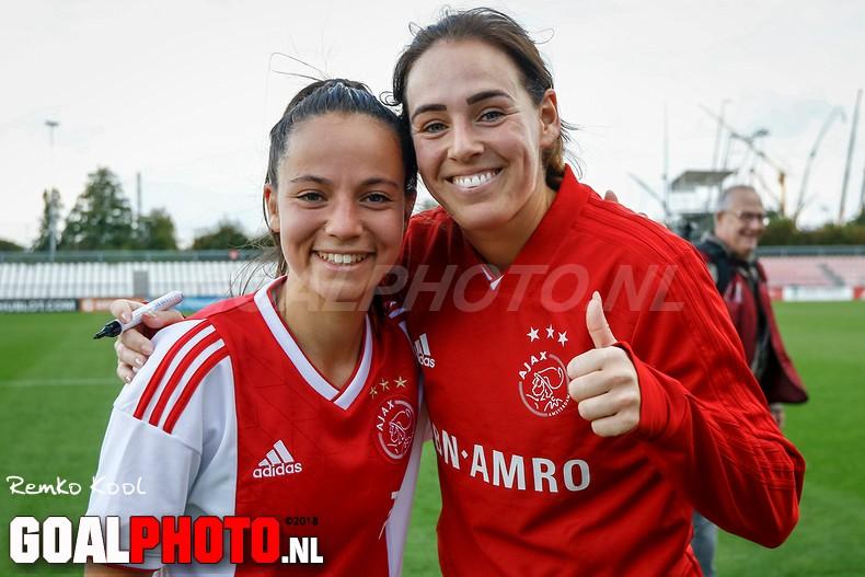 Ajax wint met 2-0 van v.v. Alkmaar