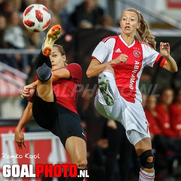 Ajax Vrouwen te sterk voor Sparta Praag in eerste Champions League-duel