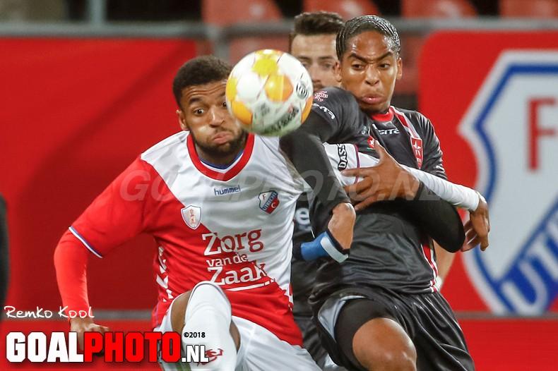 Jong FC Utrecht en MVV komen niet tot scoren in matig duel