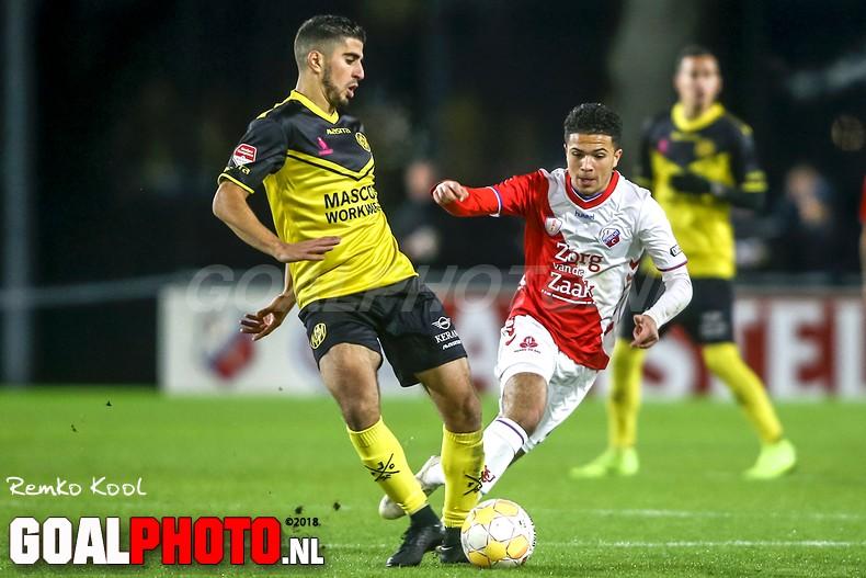 Jong FC Utrecht in slotfase onderuit tegen pover Roda