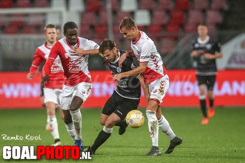 FC Den Bosch ondanks gelijkspel tegen Jong FC Utrecht na elf jaar weer koploper in de eerste divisie